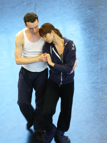 Michael und Shoko im Studio...