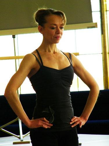 ... Tänzerin Uliana Selezkaja.