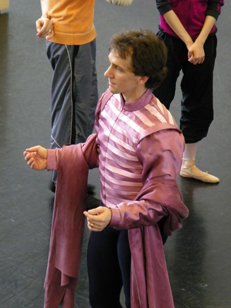 Mikhail Kaniskin als Romeo.