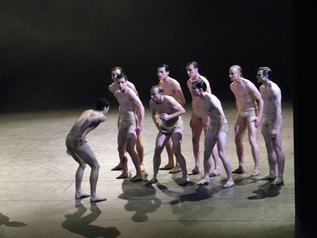 Unsere Tänzer.
