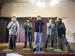 Sie sind Gewinner des Preises für die Altersgruppe Klasse 1-4 in der Sparte Musiktheater.