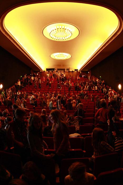Der Zuschauersaal des THEATERS AN DER PARKAUE.