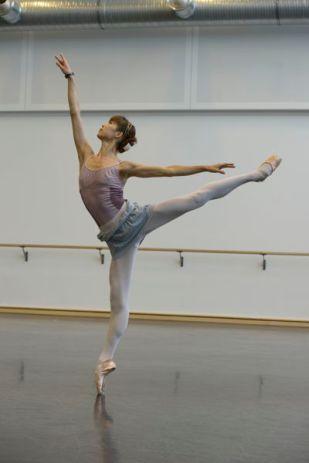 Shoko Nakamura bei Proben zu BALLET IMPERIAL (c) Bettina Stöß