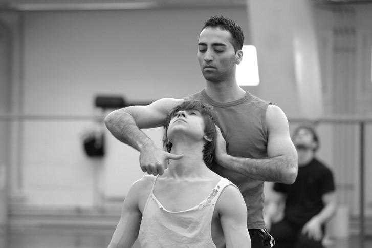 Arshak Ghalumyan und Alexander Shpak © Bettina Stöß