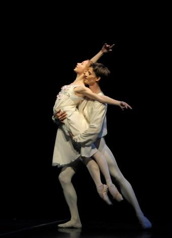 """Iana Salenko und Marian Walter in John Crankos """"Romeo und Julia"""". (c) Bettina Stöß"""