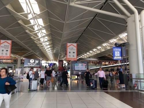 中部国際空港セントレア 国内線搭乗手続きフロア