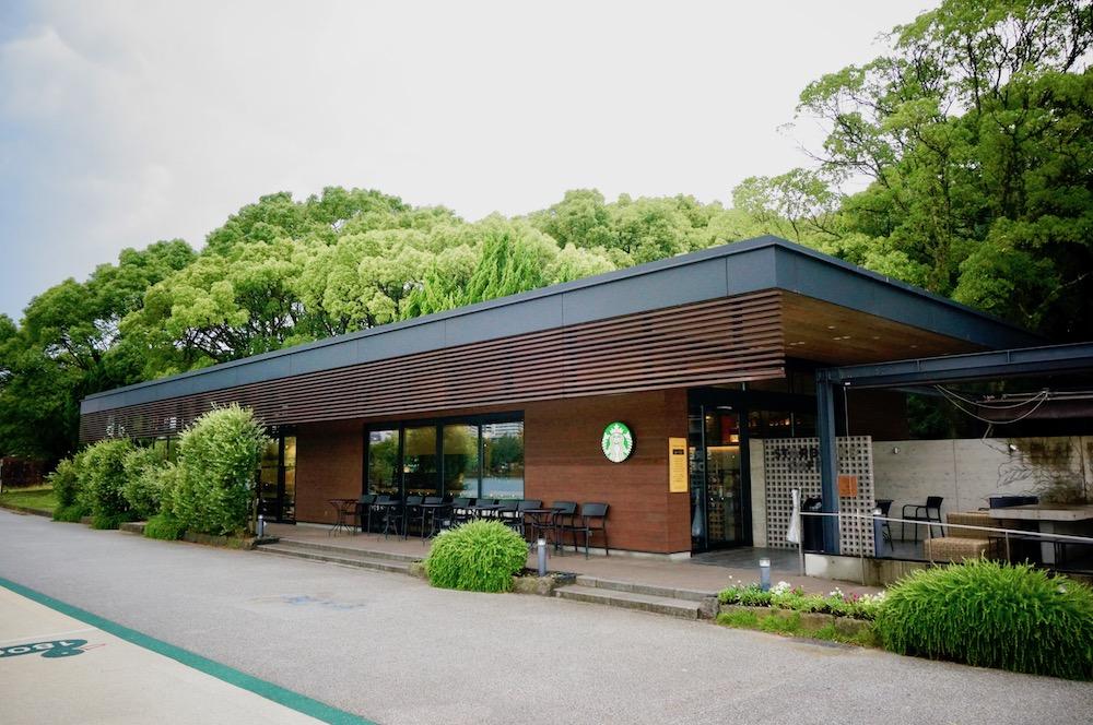 リージョナルランドマークストア 福岡 大濠公園 スタバ 外観