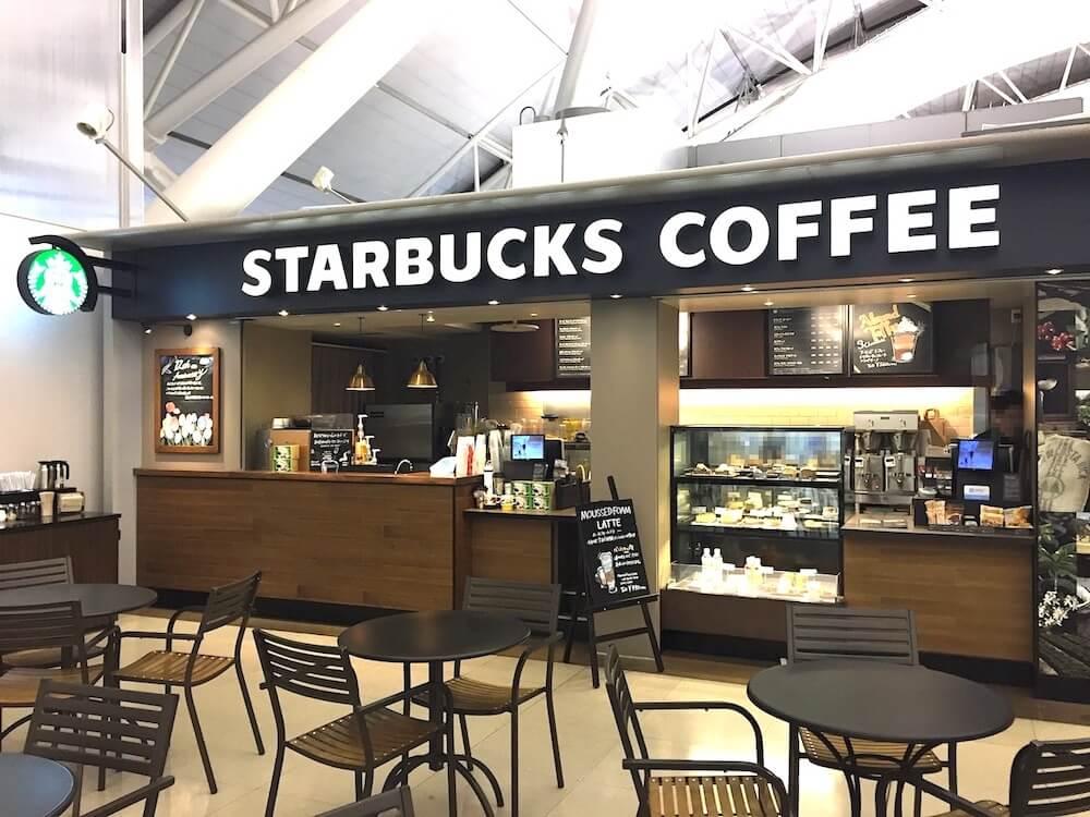 スタバ 関西国際空港4階ノースゲート店。