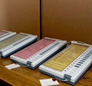 India Elections 2014 Voting Machine