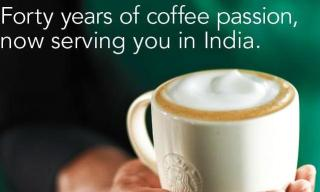 Starbucks in India