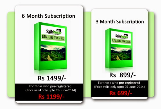 Subscription Pricing - Ultra Long Term Stocks