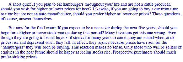 Berkshire Buffett Letter 1997