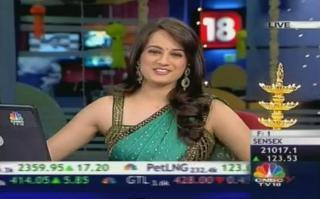Sonia Shenoy CNBC TV18