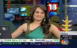 Sonia Shenoy CNBC TV18