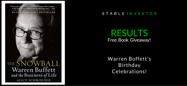 Warren Buffett Birthday Result