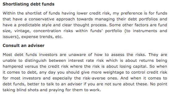 Morningstar Dev Ashish Debt Funds 1