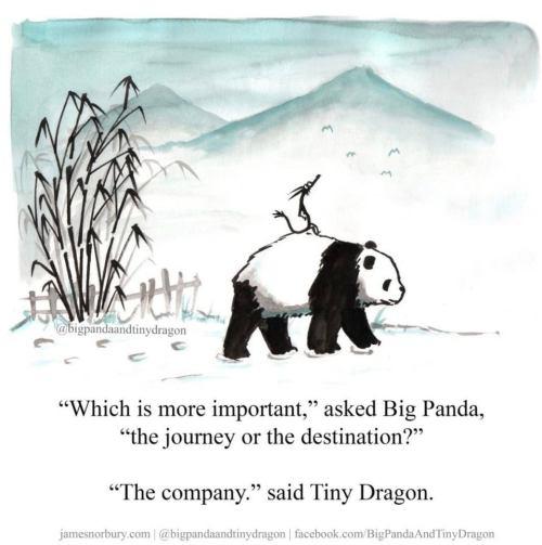 Panda dragon journey destination company