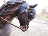 BPM's new tack closeup of bridle