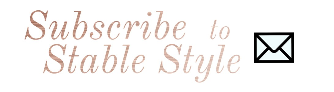 Subscribe to Stable Style via Email
