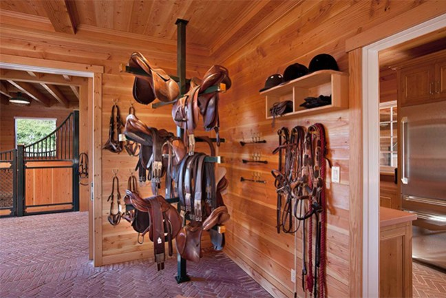 Hope Ranch's tack room