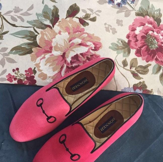 Ronner Design pink snaffle bit flats