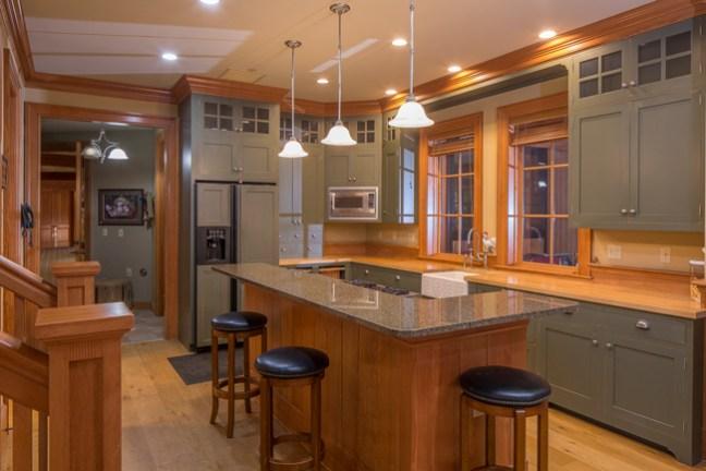 beautiful kitchen for entertaining