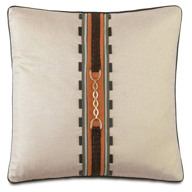Equestrian+Braided+Mane+Down+Throw+Pillow