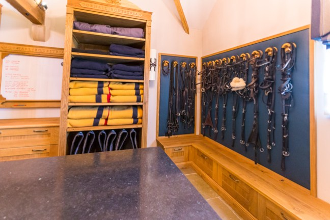 bridles and rugs