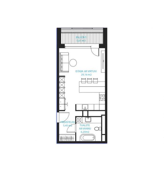 Dzīvoklis Nr.24