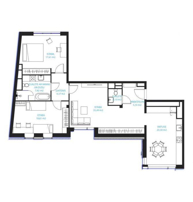Dzīvoklis Nr.26