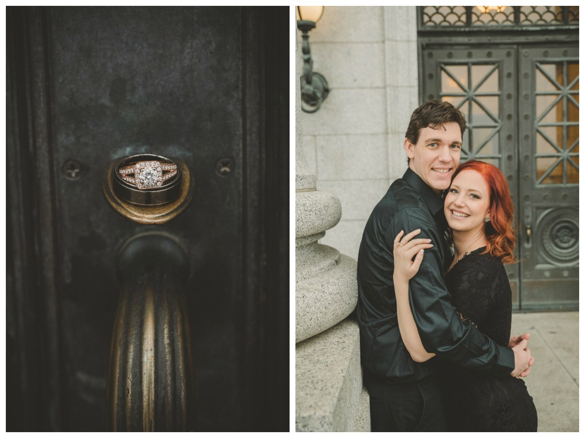 Alix and Paul Engagement | State Capitol Building