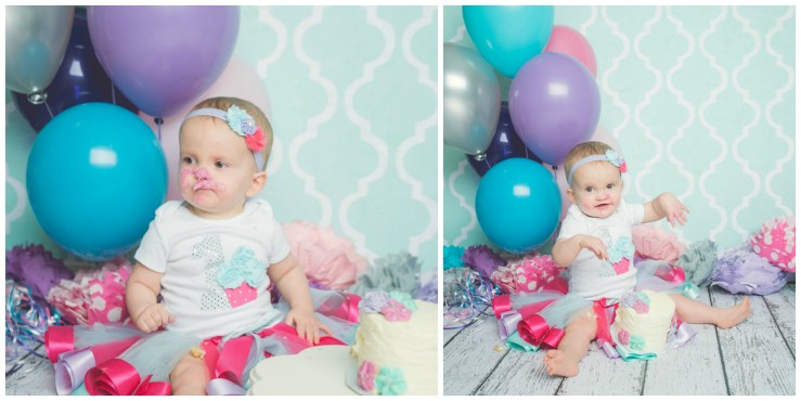 Logan Utah Cake Smash Photography