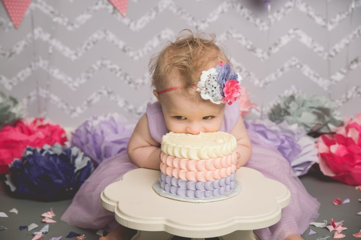 Cake Smash Photographer Logan Utah