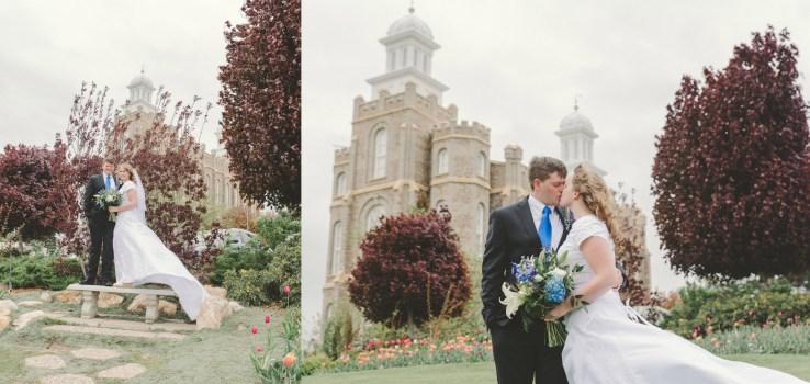 Logan Utah Temple Wedding