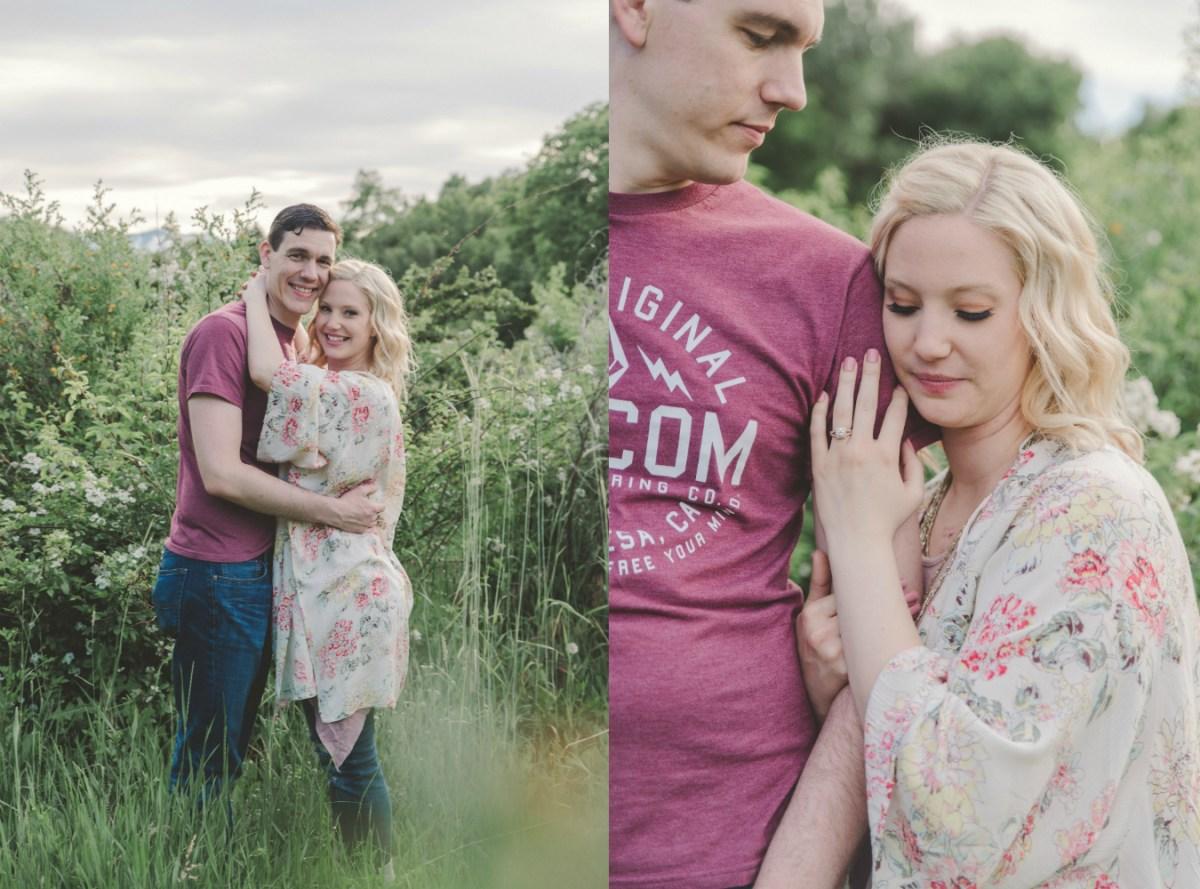 Paul & Alix | Denzil Stewart Logan Utah Engagement Photographer