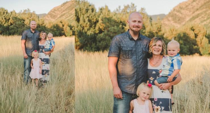 Johnson Family Green Canyon Logan Utah Photographer
