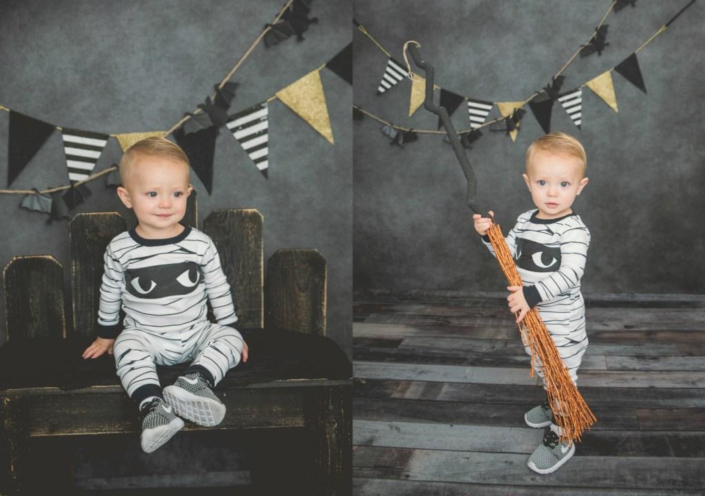 Connor Halloween Mini Session Logan Utah 2017