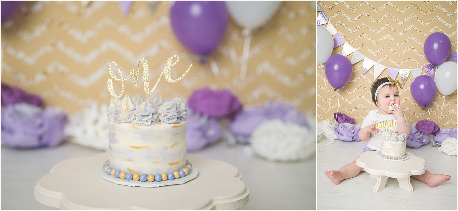 Stacey-Hansen-Photography-Cake-Smash-Purple-Gold-Logan-Utah (3)