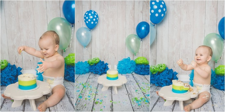 Nelson Logan Utah Cake Smash Photographer