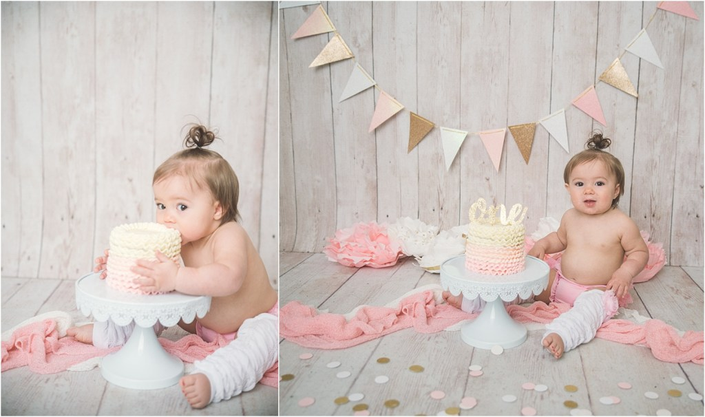 Jones Logan Utah Cake Smash Photographer
