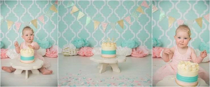 Remi Logan Utah Cake Smash Photographer