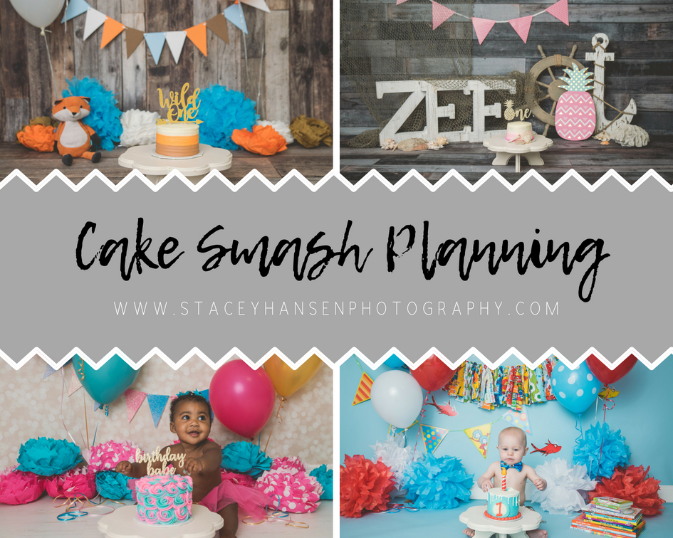 Planning Cake Smash Session Logan Utah Cake Smash Photographer