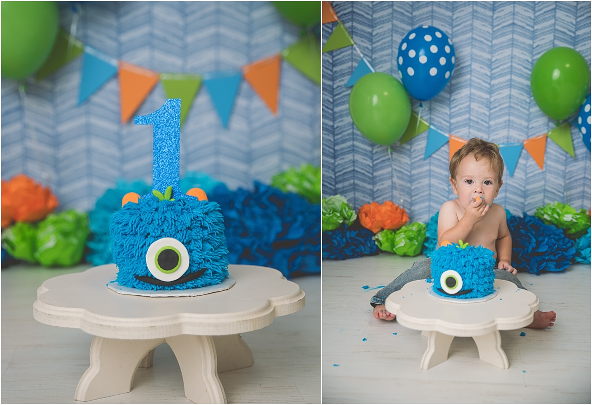 Boston Logan Utah Cake Smash Photographer
