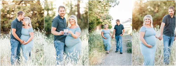 Hansen Maternity Session Logan Utah Photographer