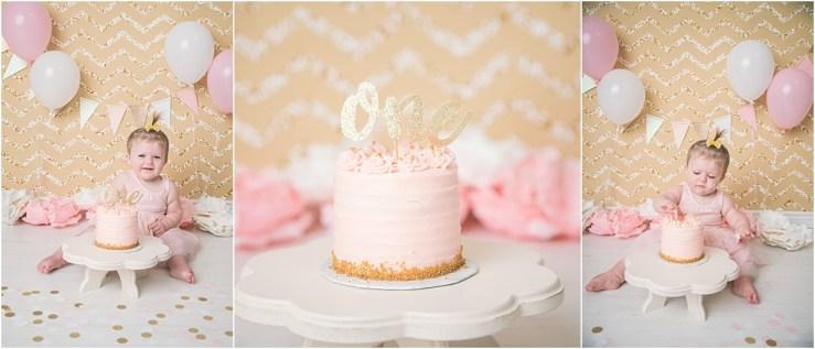 Jessica Cake Smash Logan Utah Cake Smash Photographer