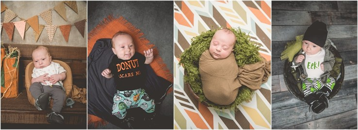 Fall Newborn Photos Kip 3 Months Logan Utah Newborn Photographer