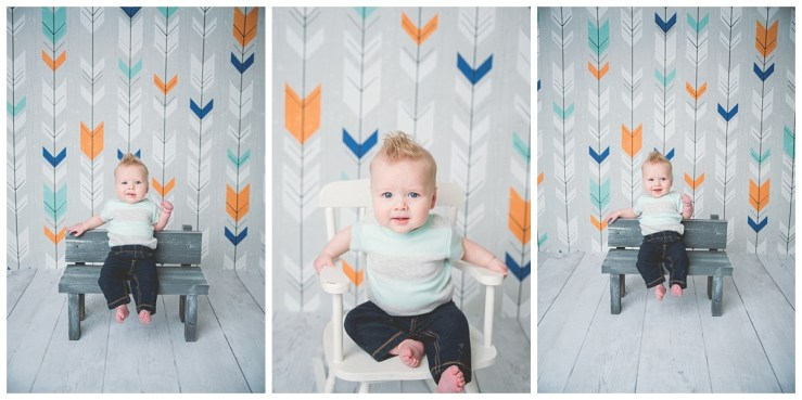 Boston 6 months Logan Utah Photographer