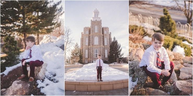 Edwards Baptism Logan Utah Photographer
