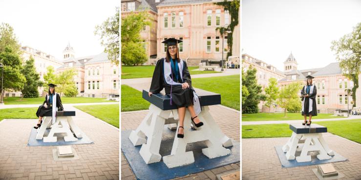 Logan Utah Graduation Photographer Katie