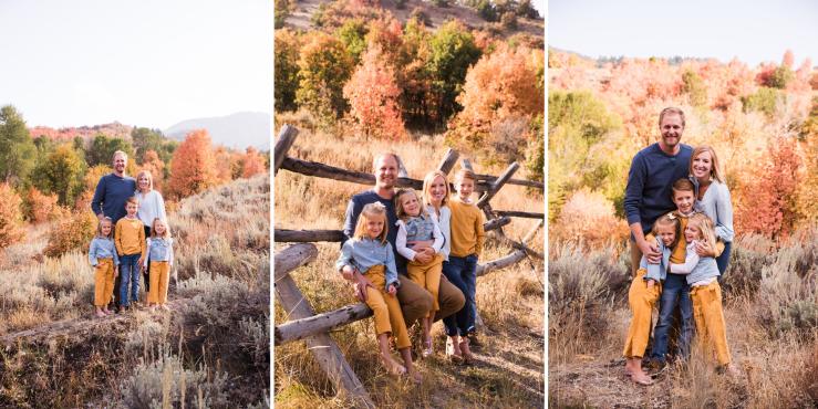 Logan Utah Photographer Family Fall Photos